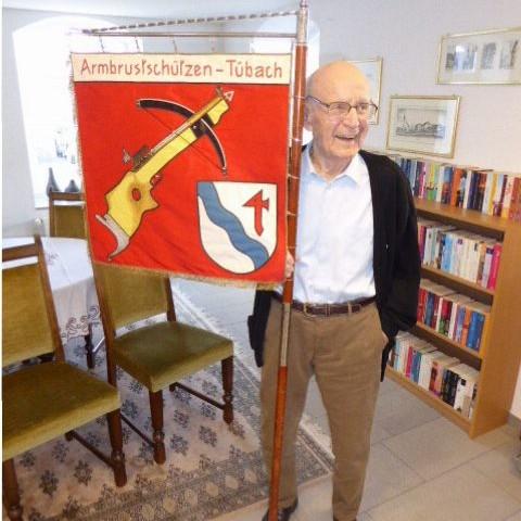 100 Jahre Peter Zwicker Ehrenpräsident 5.April 2018